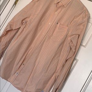 IZOD Saltwater Striped Casual Button down